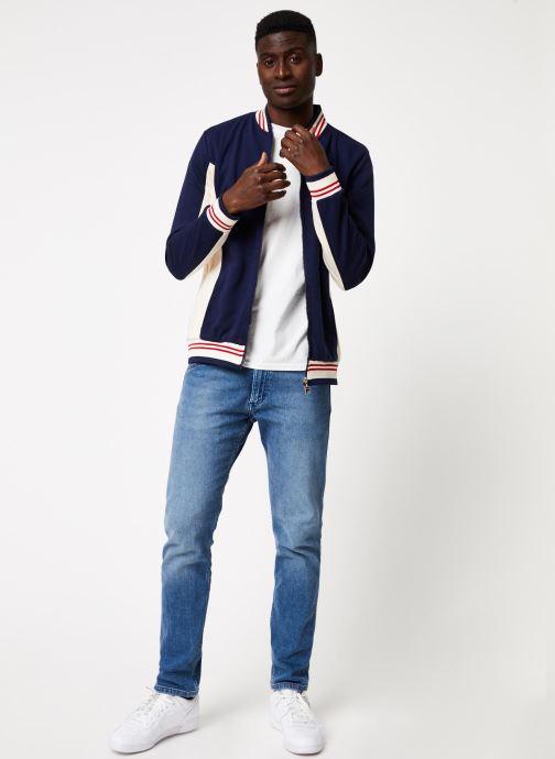 Vêtements FILA Settana Bleu vue bas / vue portée sac