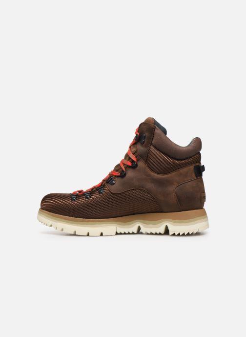 Boots en enkellaarsjes Sorel Atlis Axe WP Bruin voorkant