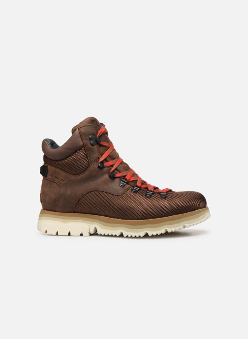 Bottines et boots Sorel Atlis Axe WP Marron vue derrière