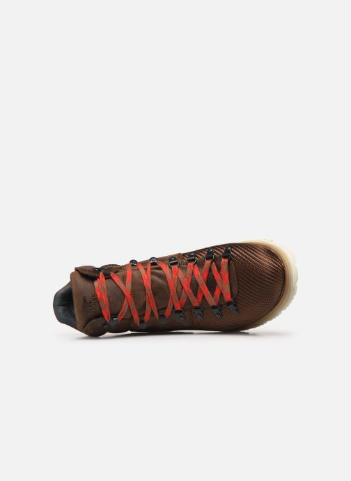 Bottines et boots Sorel Atlis Axe WP Marron vue gauche