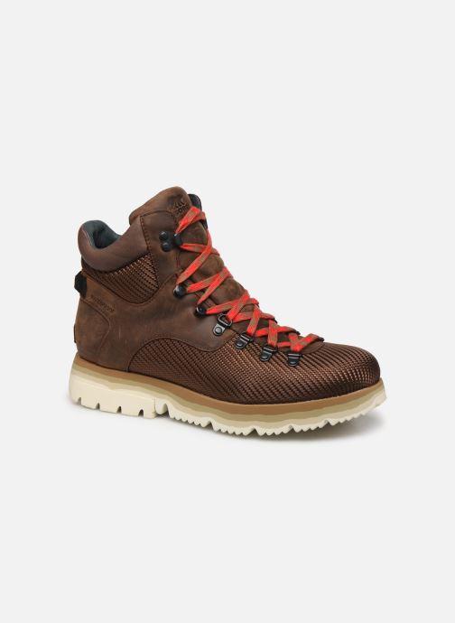 Bottines et boots Sorel Atlis Axe WP Marron vue détail/paire