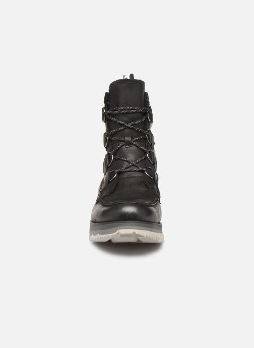 Bottines et boots Sorel Atlis Caribou WP Noir vue portées chaussures