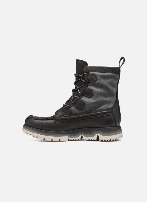 Bottines et boots Sorel Atlis Caribou WP Noir vue face