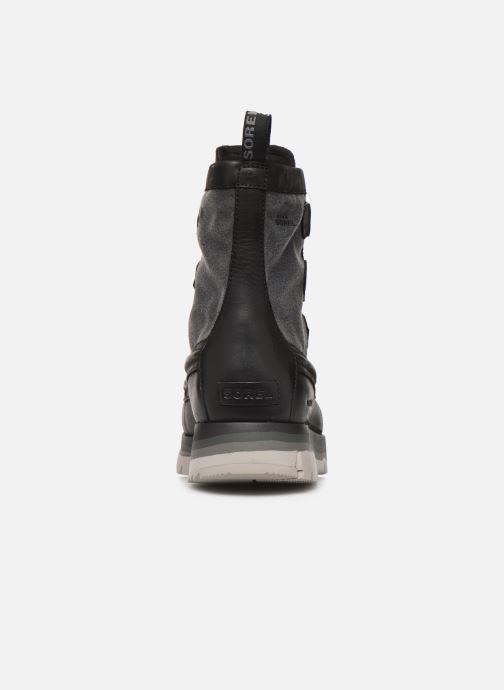 Bottines et boots Sorel Atlis Caribou WP Noir vue droite