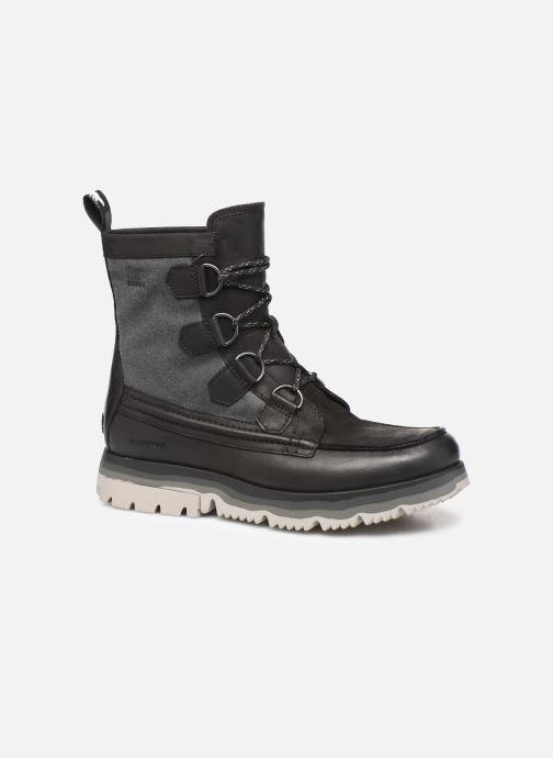 Bottines et boots Sorel Atlis Caribou WP Noir vue détail/paire