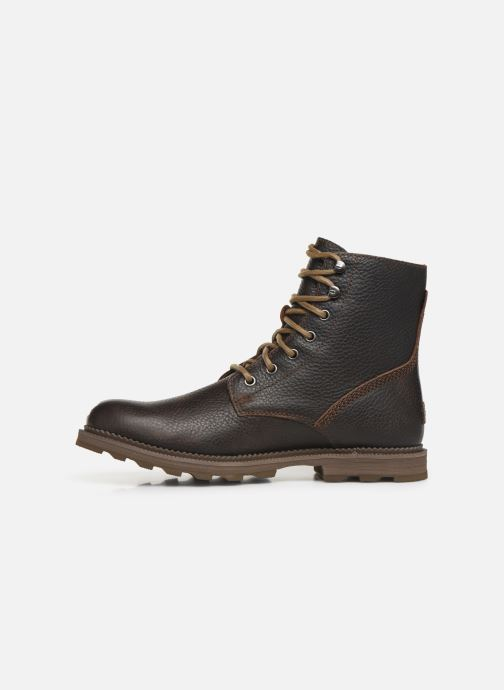Ankle boots Sorel Madson 6 Boot WP Brown front view