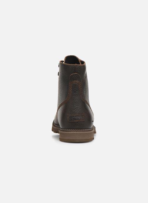 Bottines et boots Sorel Madson 6 Boot WP Marron vue droite