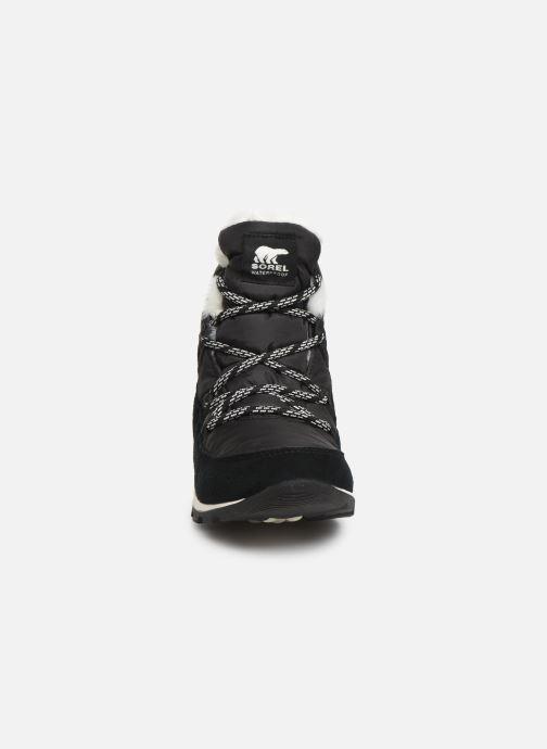 Bottines et boots Sorel Whitney Flurry Noir vue portées chaussures