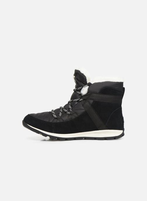 Bottines et boots Sorel Whitney Flurry Noir vue face