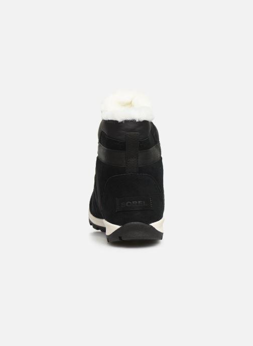 Bottines et boots Sorel Whitney Flurry Noir vue droite
