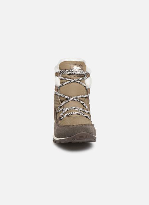 Bottines et boots Sorel Whitney Flurry Marron vue portées chaussures