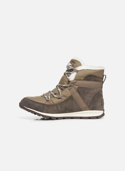 Bottines et boots Sorel Whitney Flurry Marron vue face
