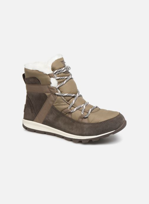 Bottines et boots Sorel Whitney Flurry Marron vue détail/paire