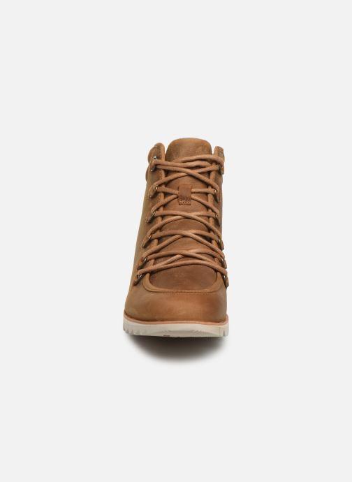 Bottines et boots Sorel Harlow Lace Marron vue portées chaussures