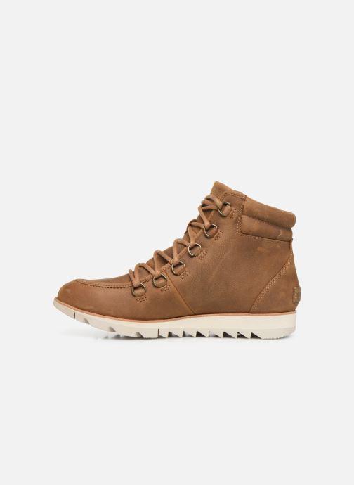 Boots en enkellaarsjes Sorel Harlow Lace Bruin voorkant