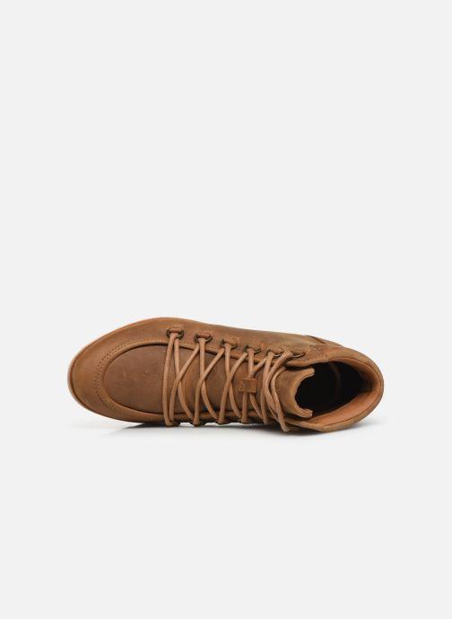 Boots en enkellaarsjes Sorel Harlow Lace Bruin links