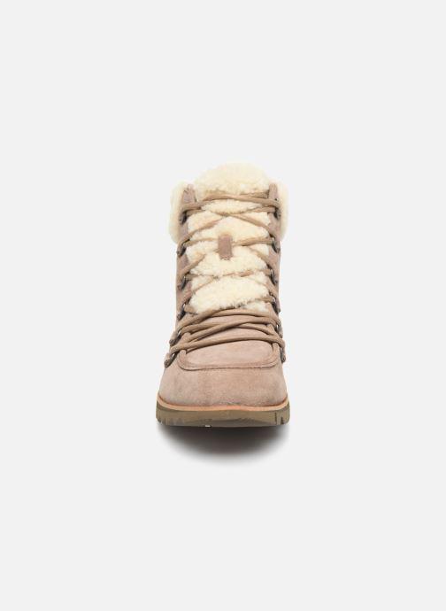 Stiefeletten & Boots Sorel Harlow Lace Cozy braun schuhe getragen