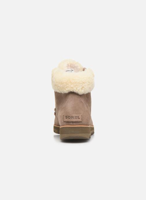 Stiefeletten & Boots Sorel Harlow Lace Cozy braun ansicht von rechts