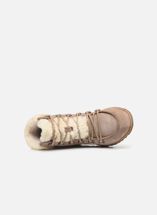 Stiefeletten & Boots Sorel Harlow Lace Cozy braun ansicht von links