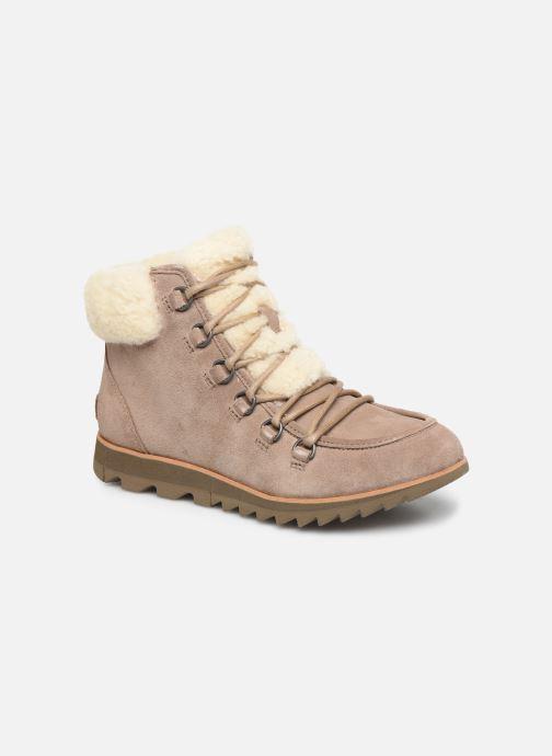 Stiefeletten & Boots Sorel Harlow Lace Cozy braun detaillierte ansicht/modell