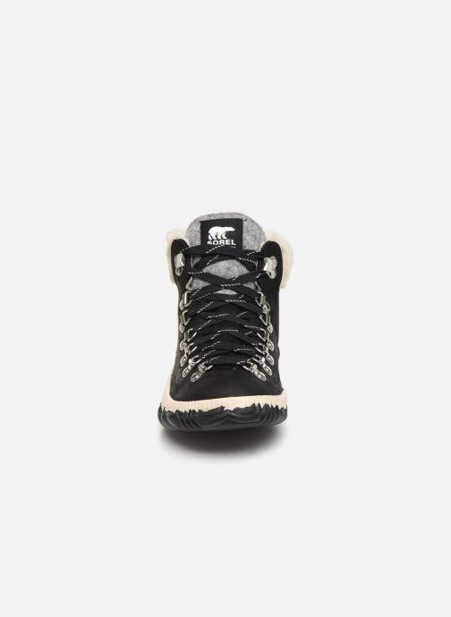 Bottines et boots Sorel Out N About Plus Conquest Noir vue portées chaussures