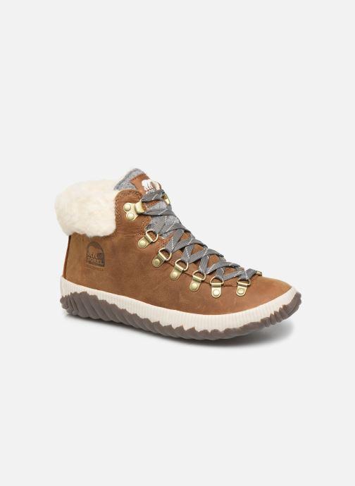 Bottines et boots Sorel Out N About Plus Conquest Marron vue détail/paire