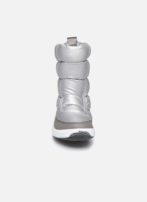 Zapatillas de deporte Sorel Out N About Puffy Mid Plateado vista del modelo
