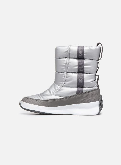 Sport shoes Sorel Out N About Puffy Mid Silver front view