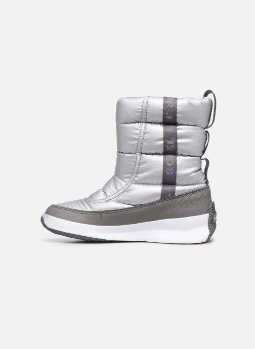 Zapatillas de deporte Sorel Out N About Puffy Mid Plateado vista de frente