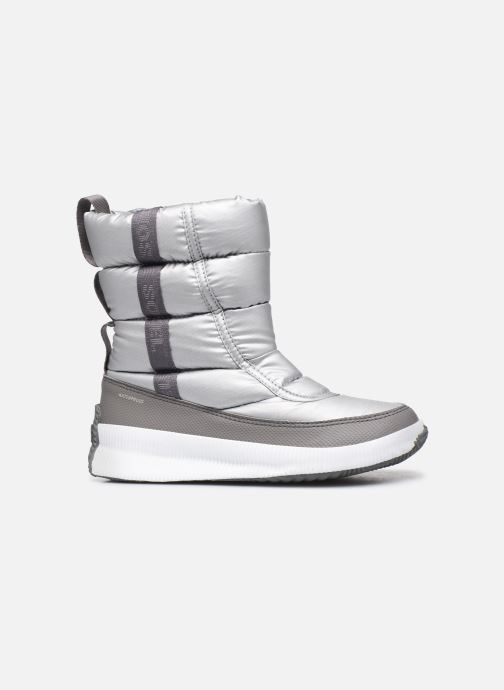 Sport shoes Sorel Out N About Puffy Mid Silver back view
