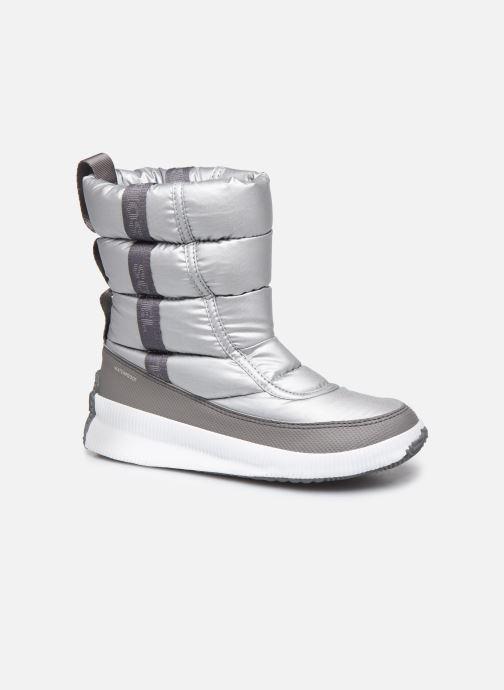 Zapatillas de deporte Sorel Out N About Puffy Mid Plateado vista de detalle / par