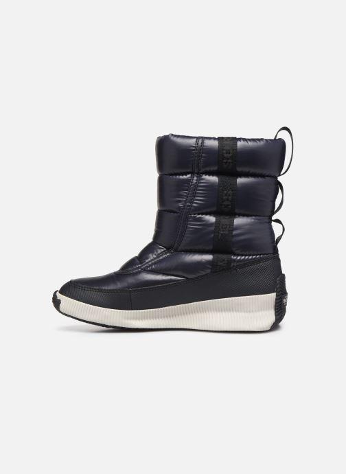 Chaussures de sport Sorel Out N About Puffy Mid Noir vue face