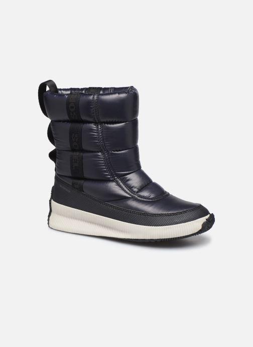 Chaussures de sport Sorel Out N About Puffy Mid Noir vue détail/paire