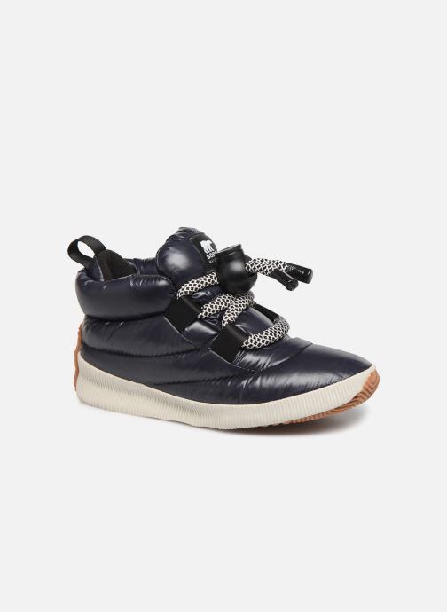 Trainers Sorel Out N About Puffy Lace Black detailed view/ Pair view