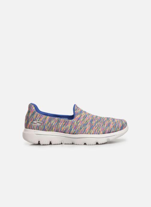 Sneakers Skechers Go Walk Evolution Ultra-Frenz Multicolor achterkant