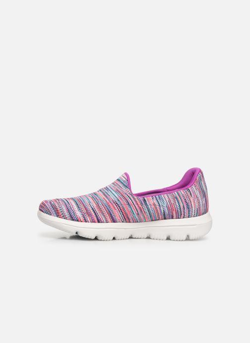 Sneakers Skechers Go Walk Evolution Ultra-Frenz Rosa immagine frontale