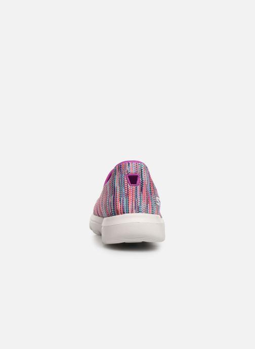 Sneakers Skechers Go Walk Evolution Ultra-Frenz Rosa immagine destra