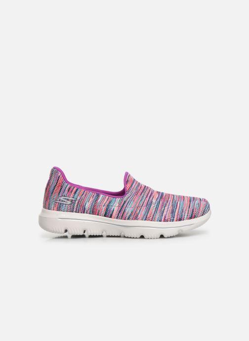 Sneakers Skechers Go Walk Evolution Ultra-Frenz Rosa immagine posteriore