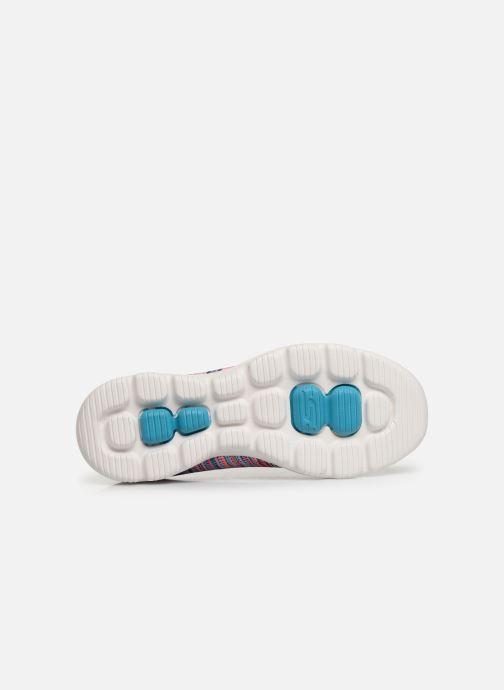 Sneakers Skechers Go Walk Evolution Ultra-Frenz Rosa immagine dall'alto