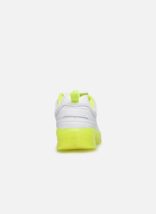 Deportivas I Love Shoes THOULEUR Blanco vista lateral derecha