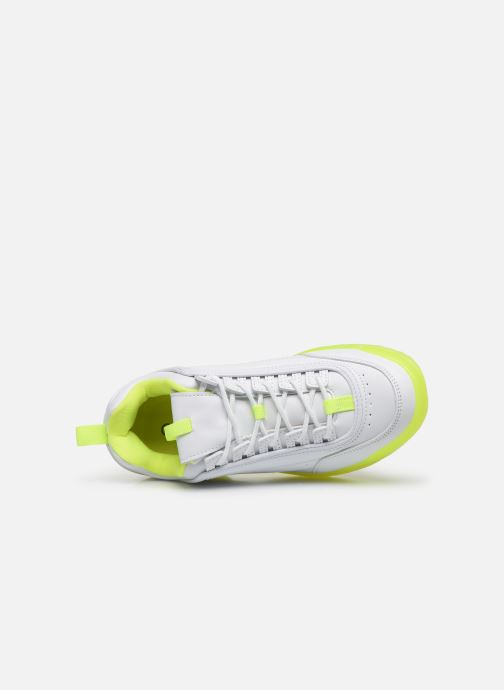 Deportivas I Love Shoes THOULEUR Blanco vista lateral izquierda