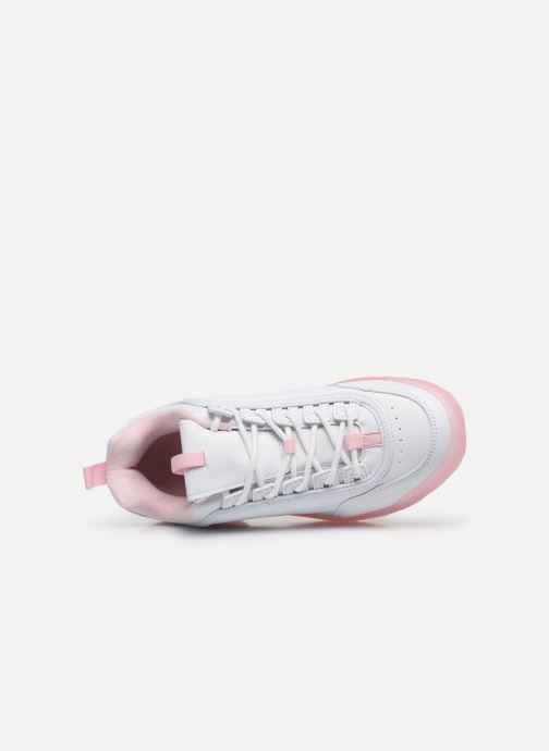 Sneakers I Love Shoes THOULEUR Bianco immagine sinistra