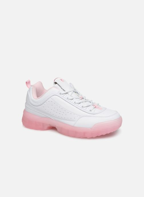 Baskets I Love Shoes THOULEUR Blanc vue détail/paire
