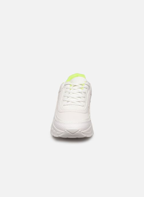 Baskets I Love Shoes THULLE Blanc vue portées chaussures