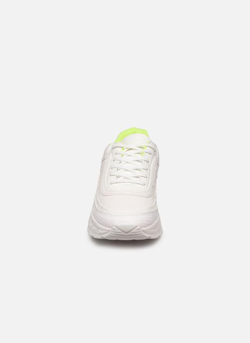 Deportivas I Love Shoes THULLE Blanco vista del modelo
