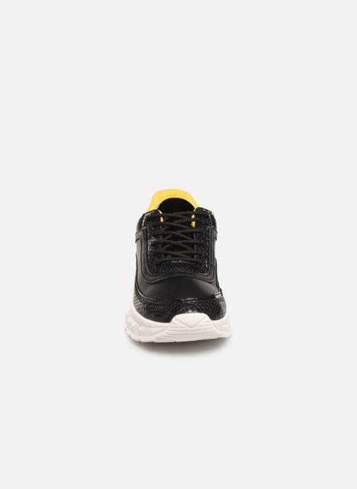 Baskets I Love Shoes THULLE Noir vue portées chaussures