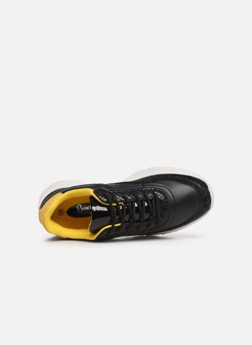 Baskets I Love Shoes THULLE Noir vue gauche