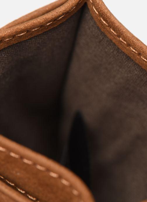 Kleine lederwaren Antonyme by Nat & Nin Porte cartes ROB Bruin achterkant