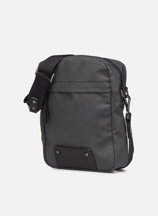Men's bags Antonyme by Nat & Nin Sacoche MATTEO Grey model view