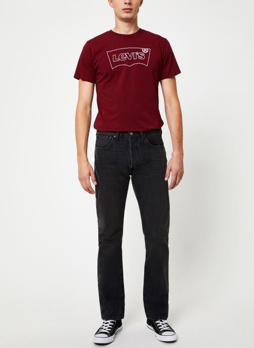 Vêtements Levi's 501® Levi'S® Original Fit M Noir vue bas / vue portée sac